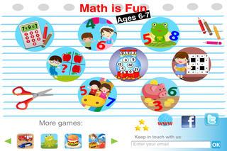 Math is fun: Age 6-7 (Free)