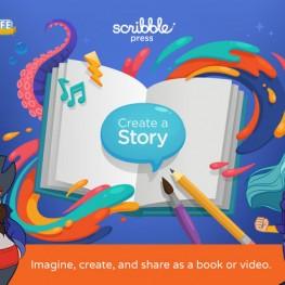 Scribble Press – Creative Book Maker for Kids